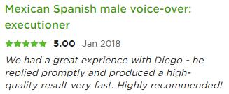 Spanish voiceover talent, voiceover artist mexican